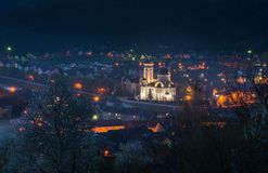 Sighisoara - night view Royalty Free Stock Images