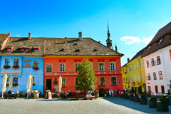 Sighisoara Old Town Stock Images