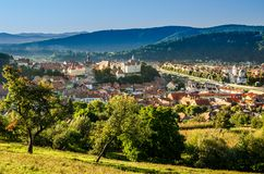 Sighisoara Overview Stock Photo