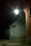 Sighisoara por noche Imagen de archivo libre de regalías