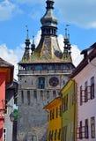 Sighisoara - punto di riferimento della Transilvania, Romania Fotografia Stock