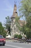 Sighisoara, Roemenië, 24 juni 2016: Oude Kerk van de Middeleeuwse Stad Sighisoara in Roemenië Stock Foto's