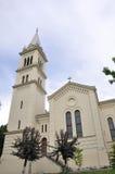 Sighisoara, Roemenië, 24 juni 2016: Roman Catholic Church in de Citadel van de Middeleeuwse Stad Sighisoara in Roemenië Royalty-vrije Stock Foto