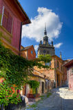 Sighisoara, romania. Medieval city of sighisoara in transylvania, romania stock photos