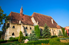 Sighisoara, Romania. The Lower Lutheran Church in the old historic center of Sighisoara, Romania Royalty Free Stock Photos