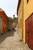 Sighisoara in Romania stock image