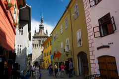 Sighisoara, Romania Royalty Free Stock Photos