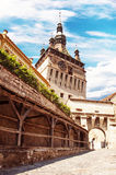 Sighisoara-Romania. Medieval city of sighisoara in transylvania, romania Stock Photography