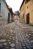 Sighisoara(Romania) Street Royalty Free Stock Photo