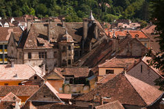 Sighisoara roofs Stock Photos