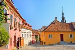 Sighisoara, Roumanie Photos libres de droits