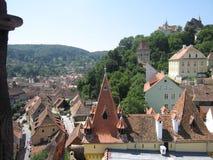 Sighisoara Rumania en verano fotos de archivo libres de regalías