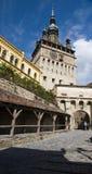 Sighisoara Schloss Lizenzfreies Stockfoto