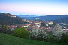 Sighisoara in springtime Stock Photo