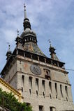 Sighisoara tower. Tower in the city of Sighisoara, Romania Royalty Free Stock Images