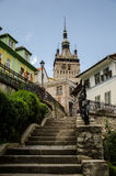 Sighisoara Tower Stock Image
