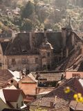 Sighisoara, a Transilvânia, Romania foto de stock royalty free