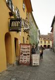 Sighisoara, medieval fortified town in Transylvania. Royalty Free Stock Images