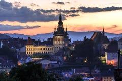 Sighisoara Transylvania, Romania Stock Photography