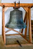 SIGHISOARA, TRANSYLVANIA/ROMANIA - 17 DE SEPTIEMBRE: La campana vieja i fotos de archivo