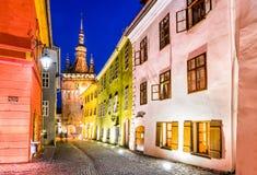 Sighisoara, Transylvania, Romania Royalty Free Stock Photo