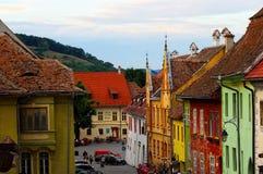 Sighisoara - Transylvania, Romania Royalty Free Stock Photos
