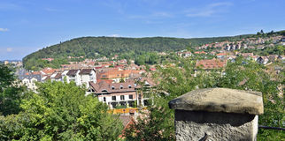 Sighisoara view Royalty Free Stock Images