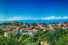 Sighnaghi city of love Georgia Caucasus tourism industry Royalty Free Stock Image