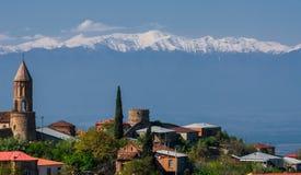 Sighnaghi es la ciudad del amor en Georgia Fotos de archivo libres de regalías