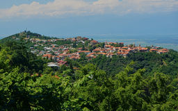 Sighnaghi, Geogia - town of lowers. Stock Images