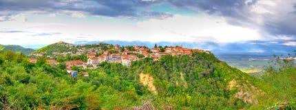 Sighnaghi, Kakheti Georgia fotografia stock libera da diritti
