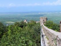 Sighnaghi miasteczka ściana Obraz Royalty Free