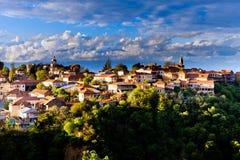 Sighnaghi-Stadt, Georgia stockfotos