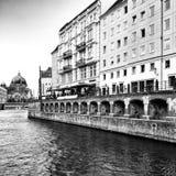 Sight Berlin, konstnärlig blick i svartvitt Royaltyfri Fotografi