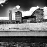 Sight Berlin, konstnärlig blick i svartvitt Royaltyfria Bilder