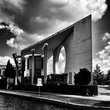 Sight Berlin, konstnärlig blick i svartvitt Arkivbild