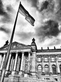 Sight Berlin Konstnärlig blick i svartvitt Royaltyfri Foto
