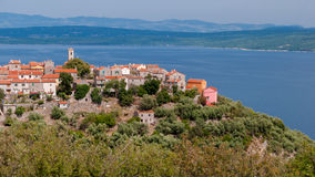 Sight of Bleli in Cres island Stock Photo