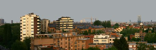 Sight of Brussels Royalty Free Stock Images