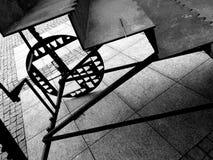 Sight Chelmno Konstnärlig blick i svartvitt Arkivfoto