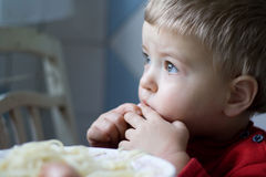 Sight of the Child Stock Images