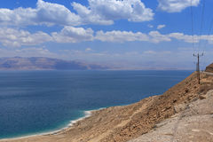 Sight of Dead Sea. Israel Stock Photo