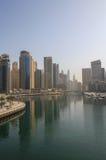 Sight of Dubai at morning Royalty Free Stock Photography