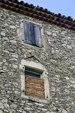 Sight of the French village of Vezenobres Stock Photography