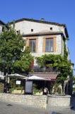 Sight of the French village of Vezenobres Royalty Free Stock Photos