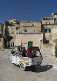 Sight i Matera royaltyfria bilder