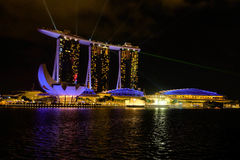 Sight i Singapore Royaltyfri Foto