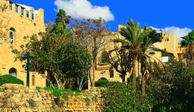 Jaffa Port, Israel. Royalty Free Stock Photos