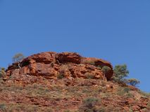 Sight of the Kings Canyon mountains Royalty Free Stock Photos