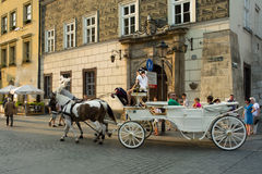 Sight Krakow. royaltyfria foton